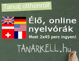 Élő, online nyelvórák